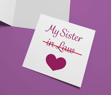 Morning Cuppa My Sister In Law Card