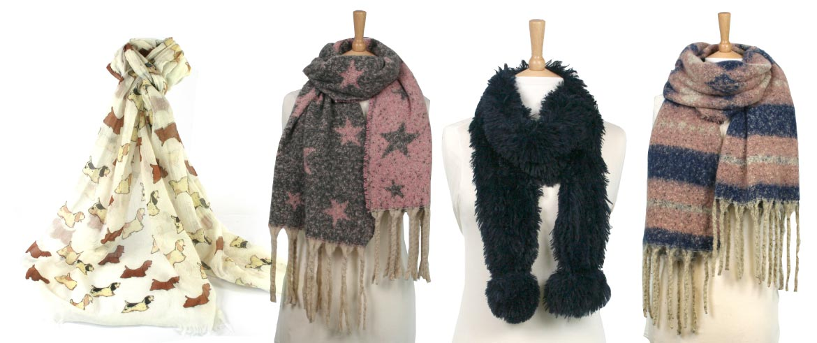 Scarves, Scarves, Scarves and More