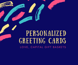 Personalized Greeting Card (Single)