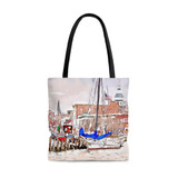 MD Waterfront Watercolor Tote