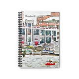 Alexandria Waterfront Spiral Notebook-Free Shipping