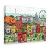 DC Capital Area Canvas Gallery Wraps-Free Shipping