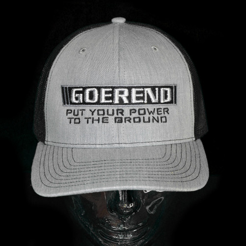 Power To The Ground Snap Back Hat