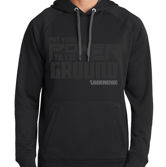Power to the Ground Performance Sweatshirt