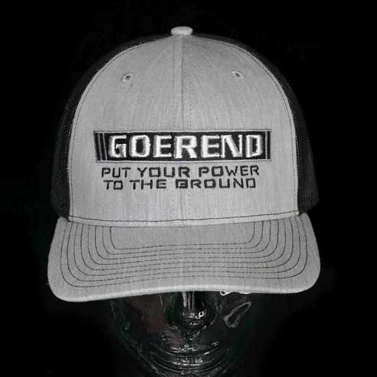 """Power To The Ground"" Snap Back Hat"