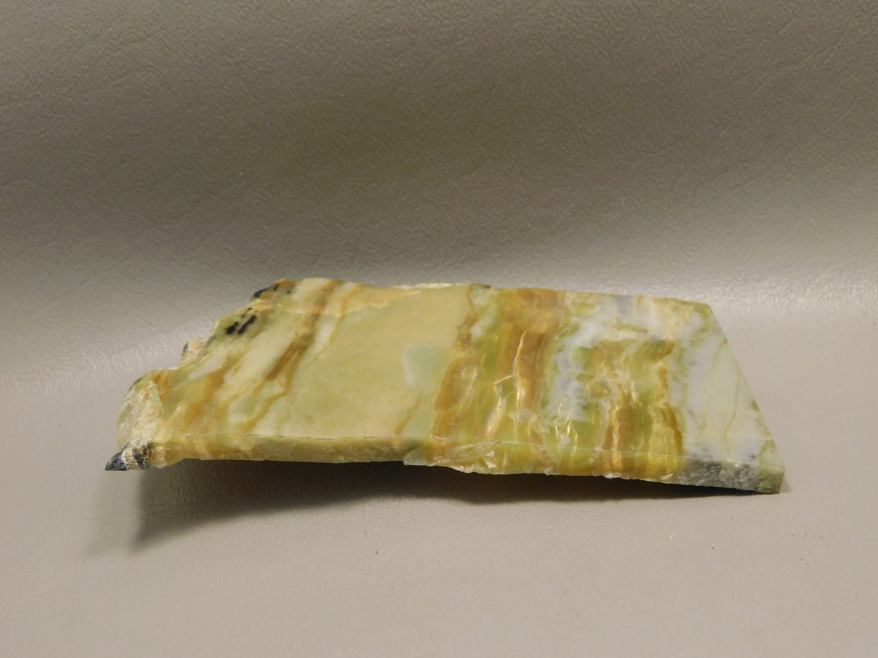 Arizona Pietersite Polished Stone Slab Chatoyant 4.25 inch Tiger Eye #O3