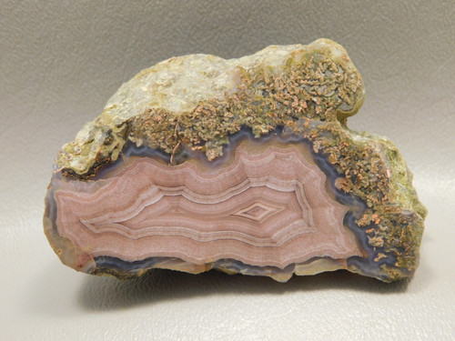 Polished Laguna Agate Stone Nodule Collector Rock Mineral #O1