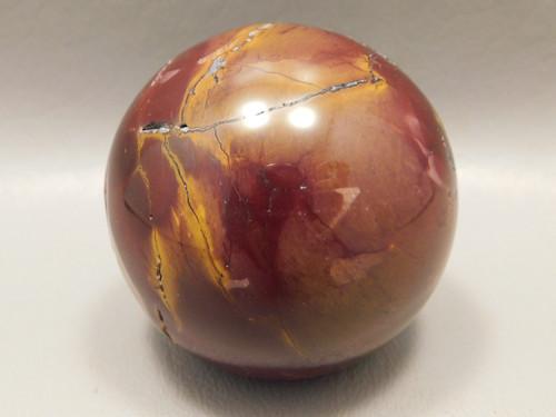 Mookaite Jasper 2 inch Sphere Shaped Stone Australia 50 mm #O34