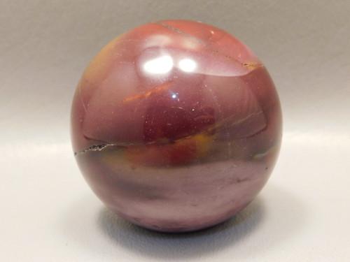 Mookaite Jasper 2 inch Sphere Shaped Stone Australia 50 mm #O35