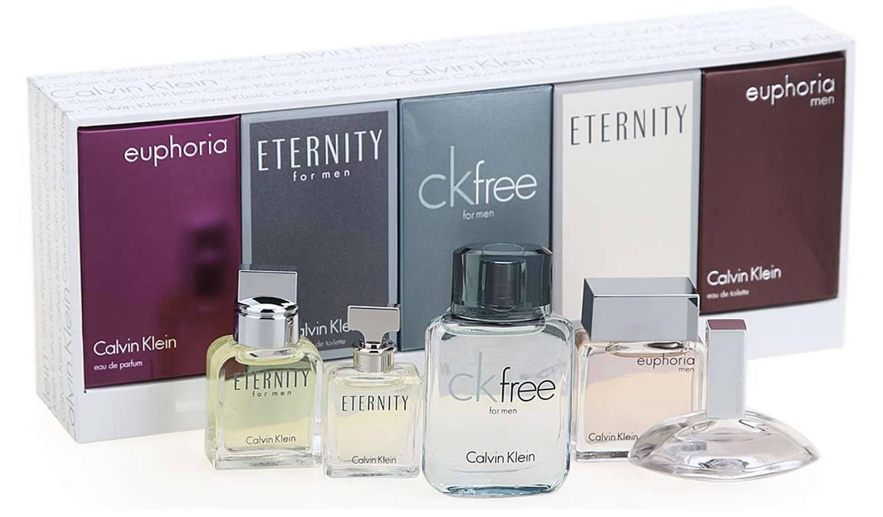 Calvin Klein 5 Piece Unisex Mini Gift Set Perfume Depot