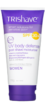 TriShave 3in1 UV Body Defense SPF30+ Post Shave Moisturising Lotion - Women 170g