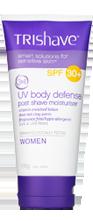 TriShave 3in1 UV Body Defense SPF30+ Post Shave Moisturising Lotion - Women 170g