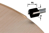 Cutter edge trimming HW D19/16