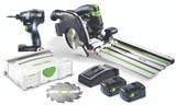 Festool FES-205602 TID 18 Impact Driver + HKC 55 - Combo Kit