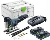 Festool FES-576527 PSC 420 EB Cordless Carvex Jigsaw 4.0Ah Kit w/ Systainer3