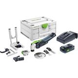 Festool FES-57659 OSC 18 Cordless Multi-Tool SET 4.0Ah Kit /w Systainer3