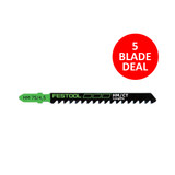 Festool FES-486561 Carbide Tipped Longlife Jigsaw Blade HM 75/4.5 Combo Pack