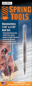 """Double Ended 1/32"""" & 1/16"""" Nail Set"""