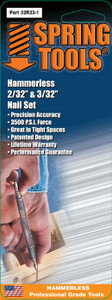 """Double Ended Nail Set 1/16"""" & 3/32"""""""