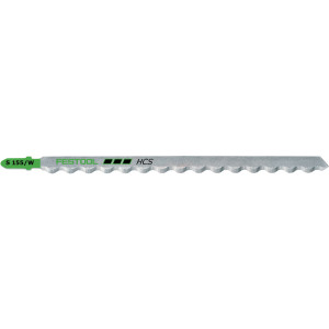 Festool FES-204345 S155/W Foam-Cutting Jigsaw Blades, 6 Inch, 3-Pack