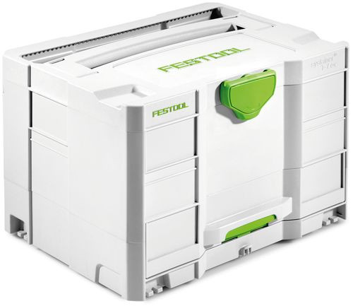 Festool FES-200117 Systainer SYS-Combi 2 Systainer T-LOC