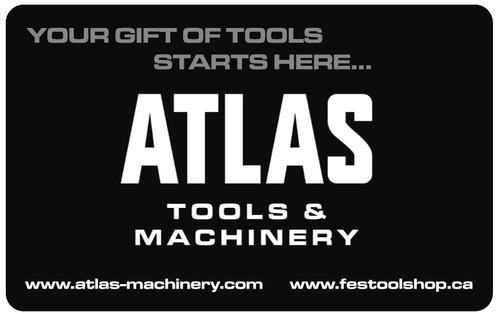 Atlas Machinery Gift Card