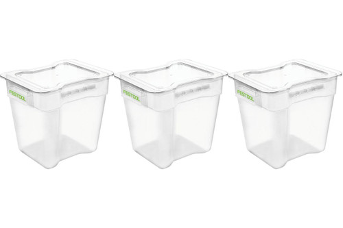 CT Cyclone Pre-Separator Collection Container Bin (3-Pack)