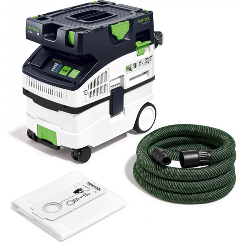 Festool FES-574837 CT MIDI I HEPA Bluetooth Dust Extractor (2019 Model)