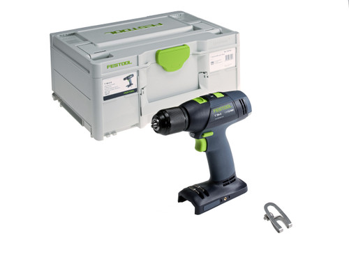 Festool FES-576758 T18 Easy Cordless Drill - Basic (Tool Only in Systainer3)