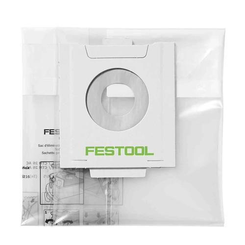 Festool FES-497540 Disposable Dust Liners ENS-CT 48 AC/5