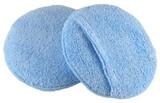 round microfiber pocket wax applicator