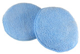 Round Microfiber Wax Pad without pocket