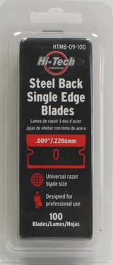 steel back single edge blades