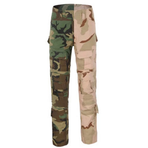 2 Side Military Grade Pants with Pockets, Cargo, Ankle Ties and Adjustable Waist Straps in Desert Storm and Army Camo Prints
