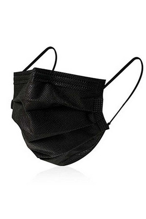 Individually Packaged Disposable Mask Dust Proof Personal Protection in Black