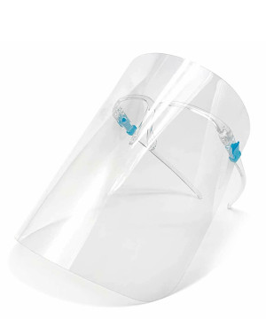 Transparent Detachable Medical Full Face Shield