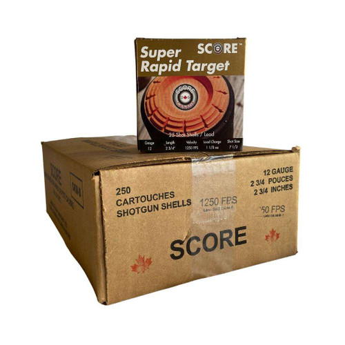 Score Target Load (#7.5, #8) Ammunition