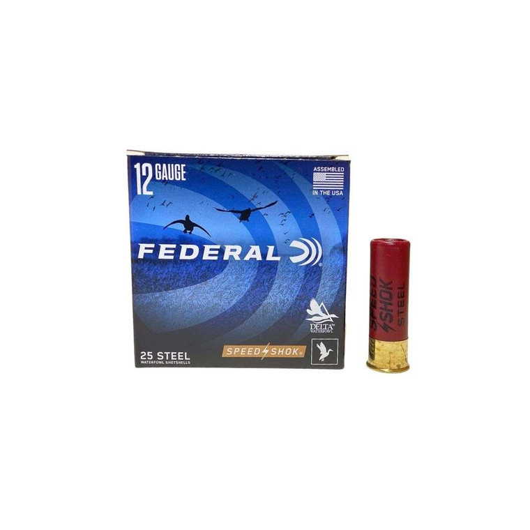 Federal Speed-Shok Waterfowl Loads (BB, #2, #4) Ammunition