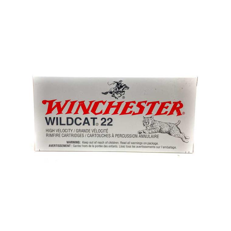 Winchester Wildcat 22 LR Ammunition