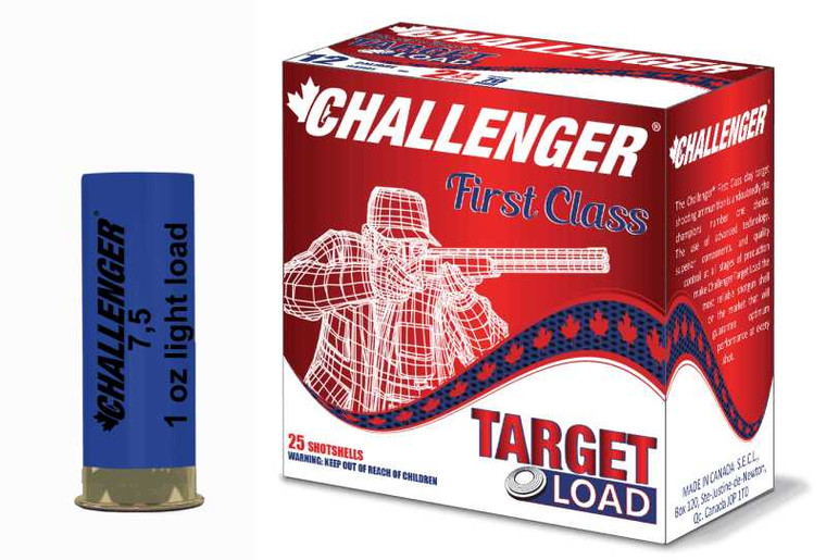 Challenger Target Load #7.5 Ammunition