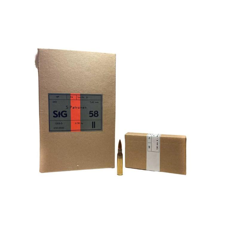 Hirtenberger 7.62x51 NATO Ammunition