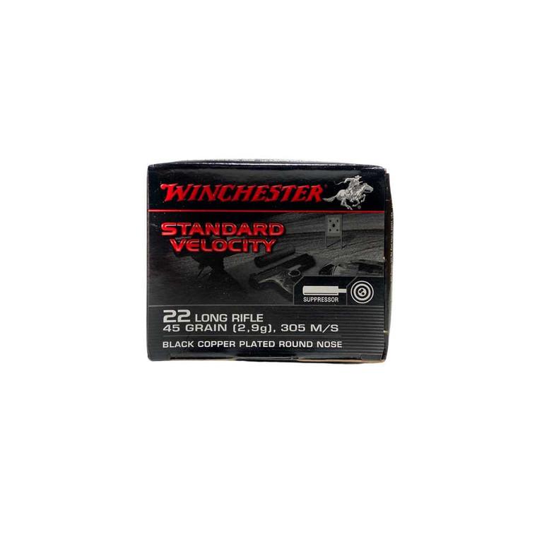 Winchester Suppressor Standard Velocity 22 LR Ammunition