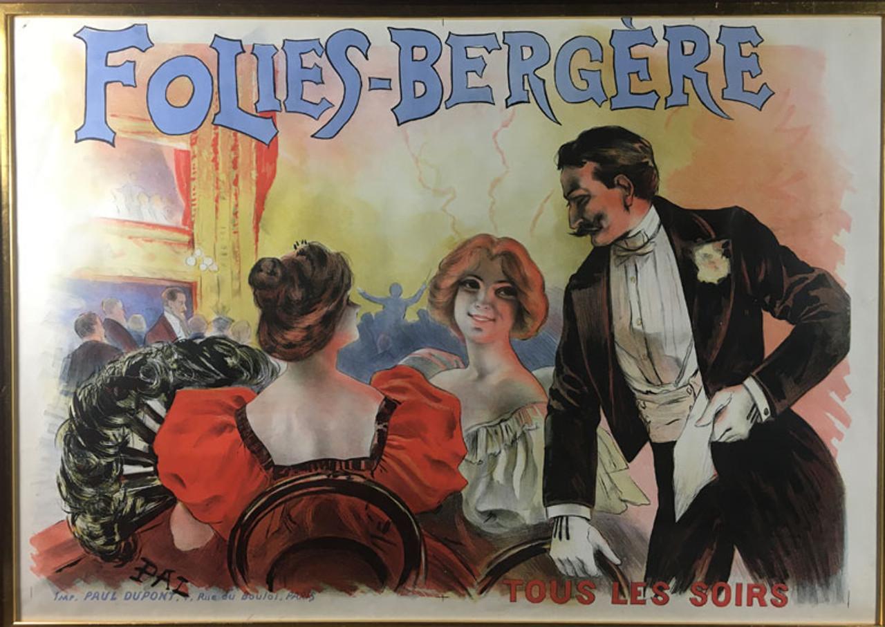 Folies-Bergere Tous Les Soirs