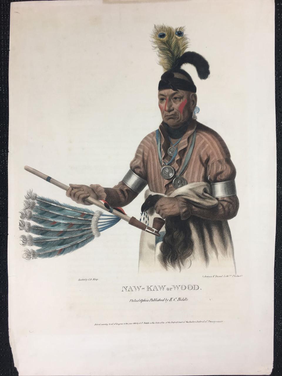 McKenny & Hall NAW-KAW or WOOD