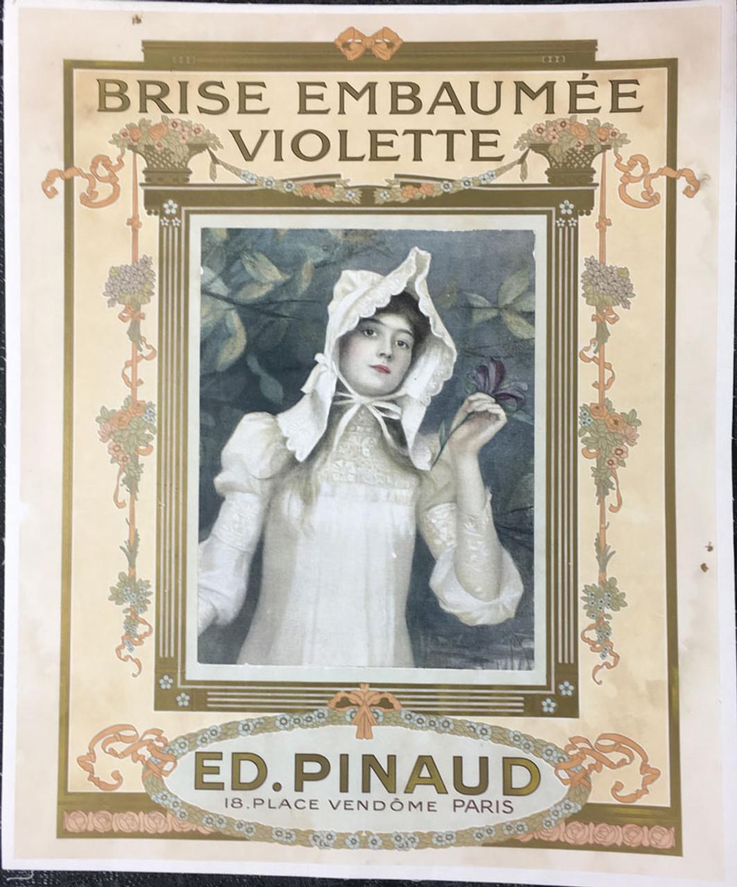 Ed. Pinaud Brise Embaumée Violette