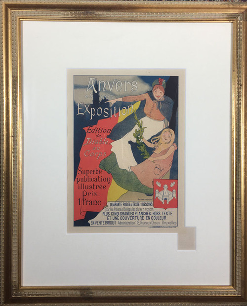 Maitre de L'Affiche Plate 116 (Anvers Exposition)