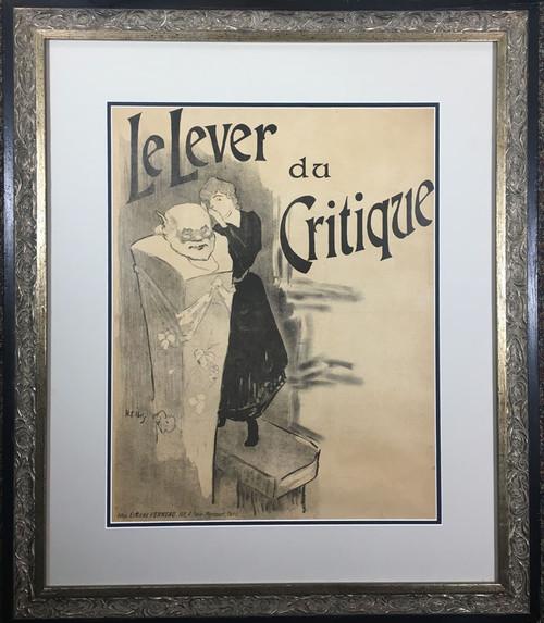 Le Lever du Critique