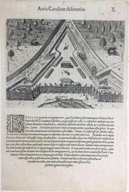 Arcis Carolineae Delineatio