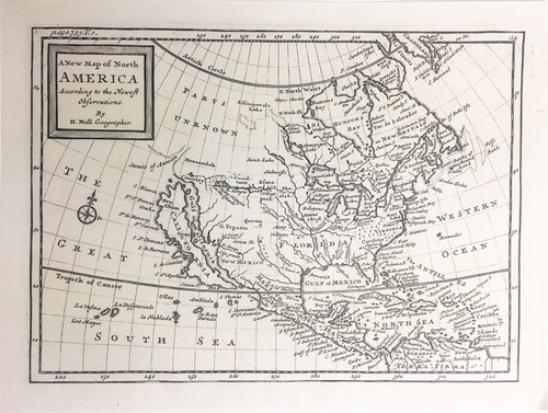 A New Map of North America et al