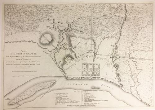 Plan of the Siege of Savannah et al
